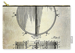 1912 Ludwig Drum Patent  Carry-all Pouch by Jon Neidert