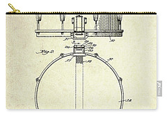 1939 Slingerland Snare Drum Patent S1 Carry-all Pouch by Gary Bodnar