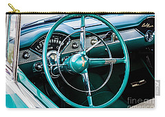 Carry-all Pouch featuring the photograph 1955 Chevrolet Bel Air by M G Whittingham