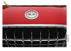 Carry-all Pouch featuring the photograph 1959 Corvette by M G Whittingham