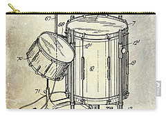 1951 Drum Kit Patent  Carry-all Pouch by Jon Neidert