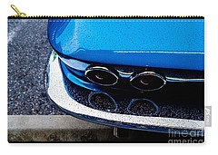 Carry-all Pouch featuring the photograph 1965 Corvette Sting Ray by M G Whittingham