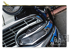 Carry-all Pouch featuring the photograph 1958 Ford Crown Victoria Reflection 2 by M G Whittingham