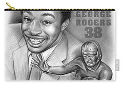 1980 Heisman Winner Carry-all Pouch by Greg Joens