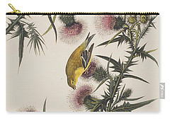 American Goldfinch Carry-all Pouch by John James Audubon