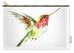 Flying Hummingbird Carry-all Pouch by Suren Nersisyan