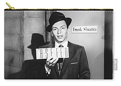 Frank Sinatra Carry-all Pouch by Underwood Archives