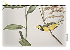 Hooded Warbler  Carry-all Pouch by John James Audubon