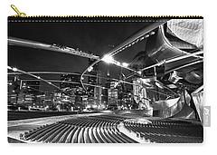 Millennium Park Carry-all Pouch by Sebastian Musial