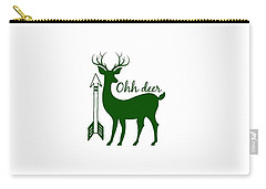 Ohh Deer Carry-all Pouch by Chastity Hoff