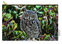 Owl Collection Carry-all Pouch by Marvin Blaine