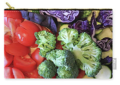 Raw Ingredients Carry-all Pouch by Tom Gowanlock