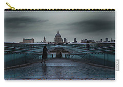 St Paul's Cathedral Carry-all Pouch by Martin Newman