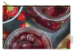 Strawberry Preserve Carry-all Pouch by Elena Elisseeva