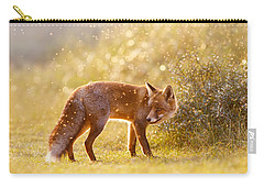 The Fox And The Fairy Dust Carry-all Pouch by Roeselien Raimond