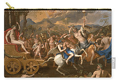 The Triumph Of Bacchus Carry-all Pouch by Nicolas Poussin