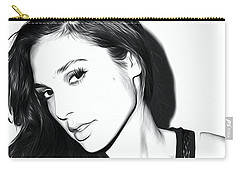 Gal Gadot Art Carry-all Pouch by Best Actors