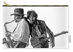 Bruce Springsteen Clarence Clemons Collection Carry-all Pouch by Marvin Blaine