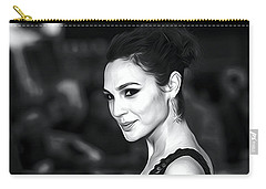 Gal Gadot Print Carry-all Pouch by Best Actors