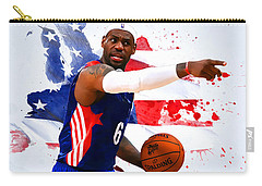 Lebron James Carry-all Pouch by Semih Yurdabak