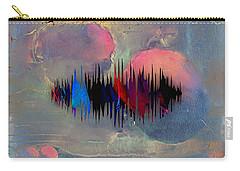 Namaste Spoken Soundwave Carry-all Pouch by Marvin Blaine