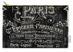 Paris Bistro Carry-all Pouch by Mindy Sommers