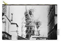 Statue Of Liberty, Paris Carry-all Pouch by Granger