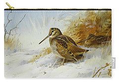 Winter Woodcock Carry-all Pouch by Archibald Thorburn