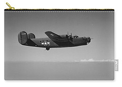 Wwii Us Aircraft In Flight Carry-all Pouch by American School