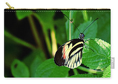 Butterfly No. 4 Carry-all Pouch by Sandy Taylor