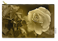 Floral Gold Collection Carry-all Pouch by Marvin Blaine
