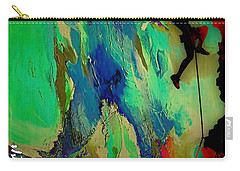 Rock Climber Collection Carry-all Pouch by Marvin Blaine