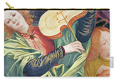 The Concert Of Angels Carry-all Pouch by Gaudenzio Ferrari