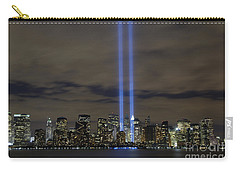 The Tribute In Light Memorial Carry-all Pouch by Stocktrek Images