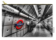 Underground London Carry-all Pouch by David Pyatt