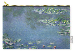 Water Lilies Carry-all Pouch by Claude Monet
