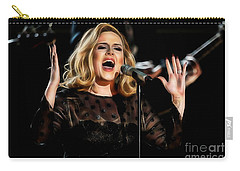 Adele Collection Carry-all Pouch by Marvin Blaine