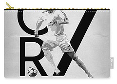 Cristiano Ronaldo Carry-all Pouch by Semih Yurdabak