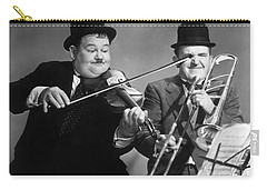 Laurel And Hardy Carry-all Pouch by Granger