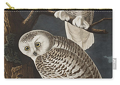 Snowy Owl Carry-all Pouch by John James Audubon