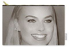 Hollywood Star Margot Robbie Carry-all Pouch by Best Actors