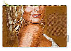Margot Robbie Art Carry-all Pouch by Best Actors