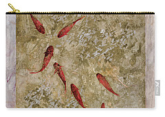 7 Pesci Rossi E Oro Carry-all Pouch by Guido Borelli
