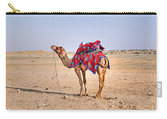 Thar Desert - India Carry-all Pouch by Joana Kruse
