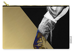 Miles Davis Collection Carry-all Pouch by Marvin Blaine