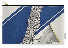 A Charles Gerard Conn Bb Tenor Carry-all Pouch by American School