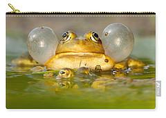 A Frog's Life Carry-all Pouch by Roeselien Raimond