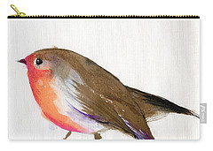 A Magical Little Robin Called Wisp Carry-all Pouch by Nancy Moniz
