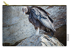 A Moment Of Silence Carry-all Pouch by Bill Wakeley