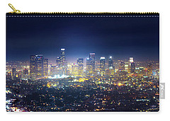 A Night In Los Angeles Carry-all Pouch by Mark Andrew Thomas